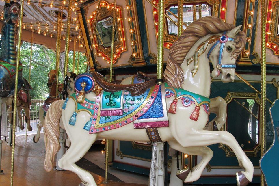 Horse on Merry-go-round