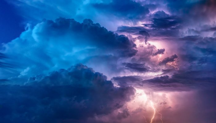Colourful Clouds with Storm Brewing
